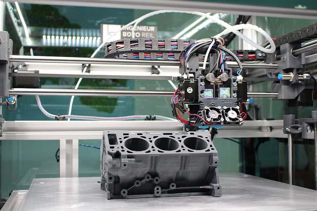 Stampa 3d milano motore