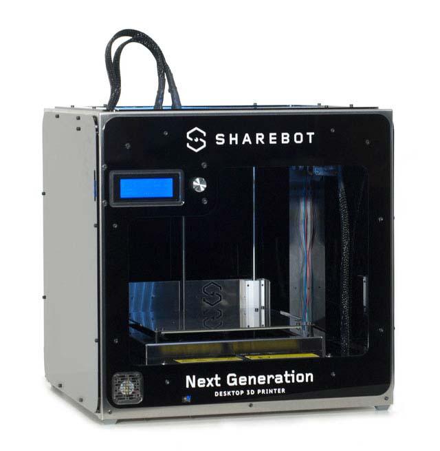 STAMPANTE 3D SHAREBOT NG